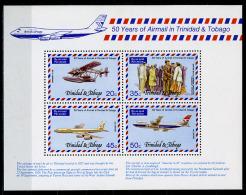 1977 - TRINIDAD E TOBAGO  -  Mi. Nr. Block 19 - NH -  (R-CAT2016505918) - Trindad & Tobago (1962-...)
