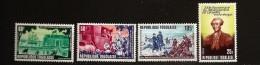 Togo 1977 N° 906 / 7 + PA 331 / 2 ** USA, Débarquement, La Fayette, Amérique, Cheval, Bateau, Fort, Calèche, Canon Neige - Togo (1960-...)