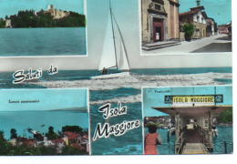 Saluti Da Isola Maggiore - Castello Guglielmi - Via Guglielmi - Scorcio Panoramico - Il Porticciolo - Italie
