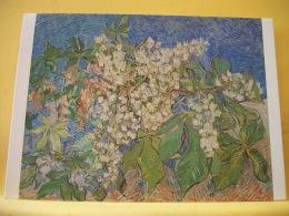 CPM 794 - VINCENT VAN GOGH - BRANCHES DE MARONNIER EN FLEURS - Peintures & Tableaux