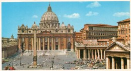 - BASILICA DI SAN PIETRO.  -  15cm X 8,5cm - Scan Verso - - Vaticano