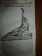 1834 LM :Le Soldat De MARATHON ; Le SERPENT A SONNETTES ; Hôtel De CLUNY ; La CHARRUE Grangé - Vieux Papiers