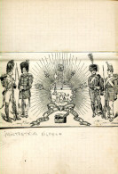 GRLT3 Ex Libris Soldats Empire, Tous Pour La France Illustrateur Hilpert - Bookplates