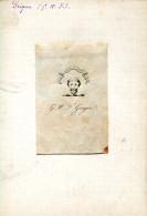 GRLT3 Ex Libris. G.W.F. Grégor - Ex-libris