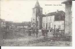 Seichamps Place De L'Eglise       Reproduction   Arts Et Collections - Autres Communes