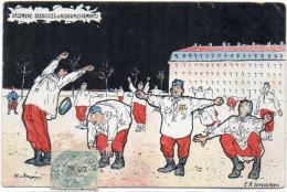 MALESPINA - Humour Militaire, - Décembre : Exercicies D' Assouplissements  (86533) - Illustrators & Photographers