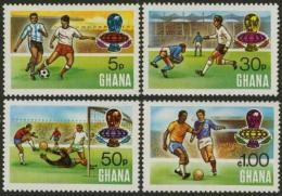 Ghana 1974 Soccer Football World Cup MNH - Coppa Del Mondo