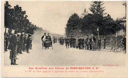 Les Ancetres Aux Usines De DION-BOUTON & Cie - Le M. De Dion Gagnant La Première Course  (86538) - Sport Automobile