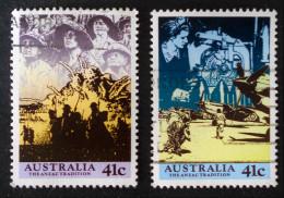 TRADITION ANZAC 1990 - OBLITERES - YT 1155/56 - MI 1197/98 - 1990-99 Elizabeth II