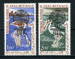 (cl.35 - P.63) Mauritanie *  PA N° 20C - 20D - Eradication Du Paludisme - - Malattie