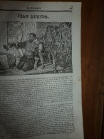 1834 LM :JEAN-GOUJON; Mausolée D'une Sultane De L'Inde; Le VOILIER PORTE-GLAIVE (poisson);Le Papayer; FRANKLIN - Vieux Papiers