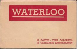 Joli Carnet Complet De WATERLOO ..-- Voir Tous Les Scans !!!!!! - Waterloo