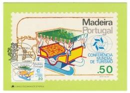 Portugal // Madeira // Carte Maximum - Cartes-maximum (CM)