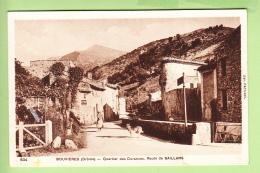 BOUVIERES - Quartier Des DURANCES , Route De SAILLANS - 2 Scans - Ohne Zuordnung