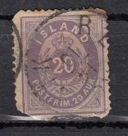 Islande Valeur En  Aur  20 Violet N°10 - 1873-1918 Dépendance Danoise