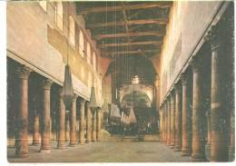 POSTAL   BETHLEEM  -PALESTINA  - IGLESIA DE LA NATIVIDAD CONSTRUIDA EN EL AÑO 330 Y RESTAURADA DESPUÉS - Palestina