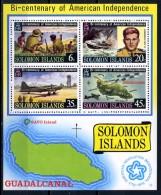 1976 - SOLOMON ISLAND -  Mi. Nr. Block 5 - NH -  (R-CAT2016505918) - Isole Salomone (1978-...)