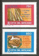 Vatican 1995, 1141/42, Europa: Frieden Und Freiheit. MNH **, - Vatican