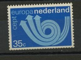 PAYS BAS - EUROPA 1973 - N° Yvert 982 ** - 1973