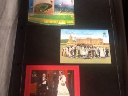 Ecuatorial Guinea, 78 World Cup Argentina, Winston Churchill And Queen Elizabeth - Stamps