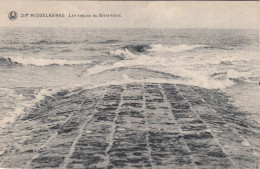 Middelkerke Les Vagues Au Brise Lame (pk29387) - Middelkerke