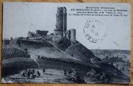 91 : Monthléry Historique - La Tour Prise De La Motte - D'après Lithographie De M. Welcker En 1845 - Château - (n°5977) - Montlhery