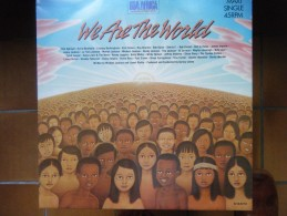 We Are The World (Ray Charles, Michael Jackson, Dionne Warwick,Bob Dylan,Tina Turner ...) - 45 Rpm - Maxi-Singles