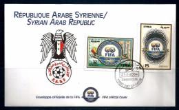 2004  SIRIA Busta Ufficiale FIFA Con AS - Calcio