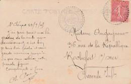 Boitier Facteur Type 1884 - St CLEMENT Sous VALSONNE ( Rhone) - 3 Scan