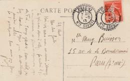 Boitier Facteur Type 1884 - LOVAGNY ( Haute  Savoie ) - 3 Scan - Postmark Collection (Covers)