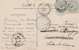 Boitier Facteur Type 1884 - CHANGIS ( Seine Et Marne )- 3 Scan