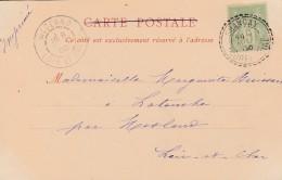 Boitier Facteur Type 1884 - CHANCAY (eure Et Loire )- + Cachet De  MESLAND - 3 Scan