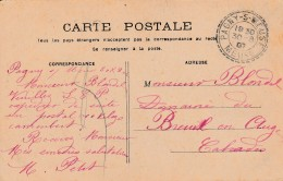 Boitier Facteur Type 1884 - PAGNY Sur MEUSE ( Meuse) - 3 Scan - Storia Postale
