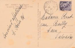 Boitier Facteur Type 1884 - VEYRIER DU LAC ( Haute Savoie)- 3 Scan
