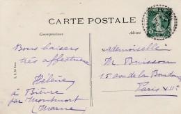 Boitier Facteur Type 1884 - MAREUIL EN BRIE ( Marne )- 3 Scan