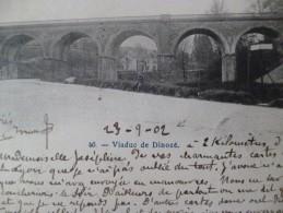 CPA 88 Vosges Viaduc De Dinozé - Sonstige Gemeinden