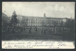 CPA - BERLAYMONT - La Façade Prise Du Jardin // - Waterloo