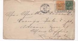 2998 Carta Canada Calgary 1925 Alberta Armistice , Flamme , Slogan, Rodillo Publicitario - Covers & Documents