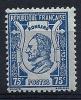 """Yt 209 """" Pierre De Ronsard 75c. Bleu Sur Azuré """" 1924 Neuf *"""