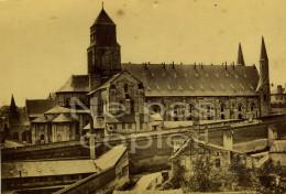 FONTEVRAUD Abbaye C.1880 Photo Par Emile Giard Maine-et-Loire 49 - Lugares