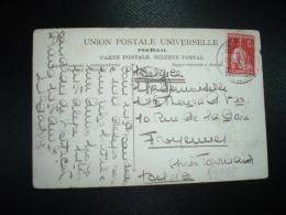 CP BUSSACO Pour La BELGIQUE TP 3 C OBL. 22 DEZ 20 - 1910 - ... Repubblica