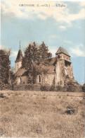 CPA Orchaise L'Eglise   41 Loir Et Cher - France