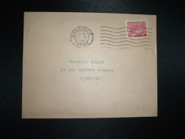 LETTRE TP MERCURE 30c OBL.MEC.21 VI 1941 GRENOBLE ISERE (38) - Marcophilie (Lettres)