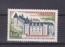 FRANCE / 1974 / Y&T N° 1809 ** : Château De Rochechouart - Gomme D'origine Intacte - Unused Stamps