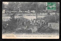 CHARENTON CYCLONE DU 16 JUIN 1908 UN COIN DE L'ILE APRES LA RAFALE    - HAZ77 - Charenton Le Pont