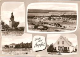 Haßfurt Augsfeld - S/w Mehrbildkarte 1 - Hassfurt