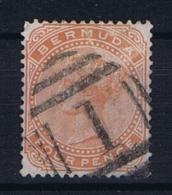 BERMUDA: SG 28a  Mi  24 Used 1883