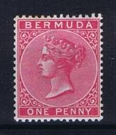 BERMUDA: SG 23  Mi  14b   MH/* Falz/ Charniere 1883 - Bermuda