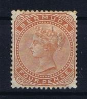 BERMUDA: SG 28a  Mi 24 MH/* Falz/ Charniere  1904