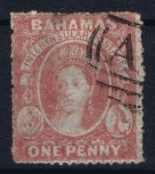 BAHAMAS:  SG 4  Mi 2 Ab  Used 1860 - Bahamas (1973-...)